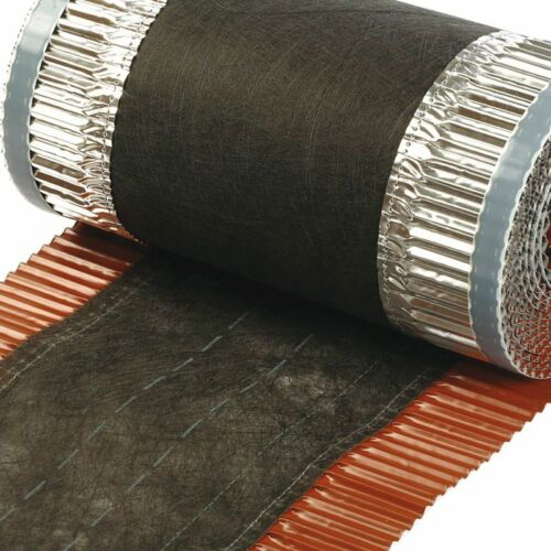 6x VENT-ROLL 390mm RAL-7016 Firstband Dach Dachrolle Gratrolle Firstrolle