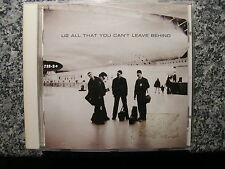 CD U2 / All that you can't leave behind – Rock Album 2000