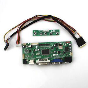 LCD Controller driver board Kit for LTN156AT35-H01 LED lvds1366X768 HDMI+DVI+VGA