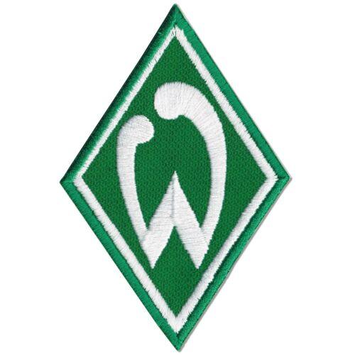 Aufnäher SV Werder Bremen Grün Weiß Logo Raute Sticker Patch Version 2019 SVW