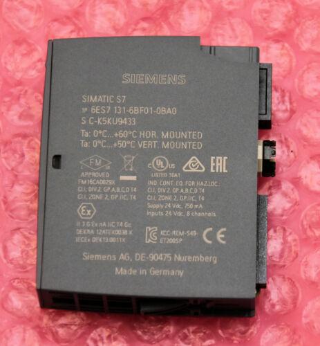 Siemens Simatic ET200SP digitales Eingangsmodul 8x24VDC  6ES7131-6BF01-0BA0