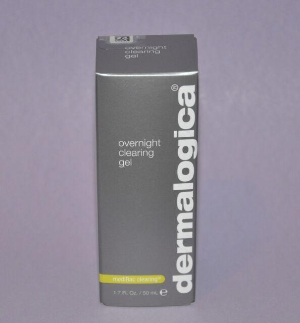 Dermalogica mediBac clearing Overnight Clearing Gel 50ml/1.7fl.oz. New in box