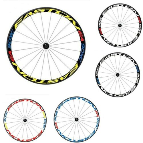 Moutain Bike MTB Wheel Rim Stickers Bicycle Cycling Race Night Reflective Decals