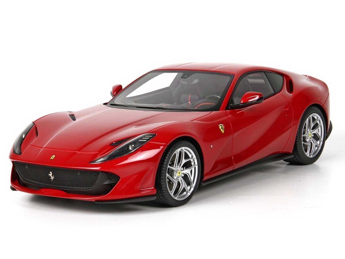 BBR 2017 Ferrari 812 Superfast rosso 70th Anniv LE LE LE 500pc BBRC198A 1:43*Nuovo*RARE 7bc74a