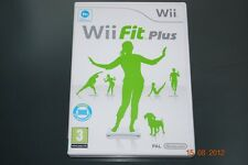Wii Fit Plus Nintendo Wii UK PAL **FREE UK POSTAGE**