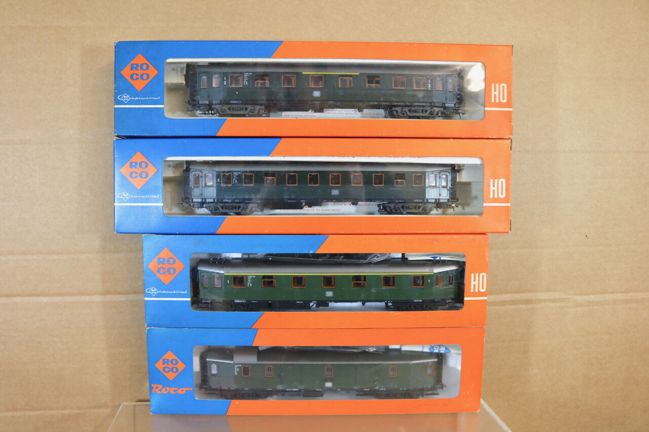 ROCO 4290s 4291s 4291 4289 4220S Rateau de 4 DB Express 1st 2nd WAGON