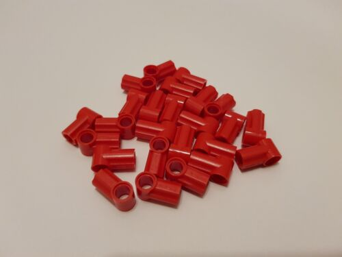 LEGO 32013 Technic Axle and Pin Connector Angled #1 Red