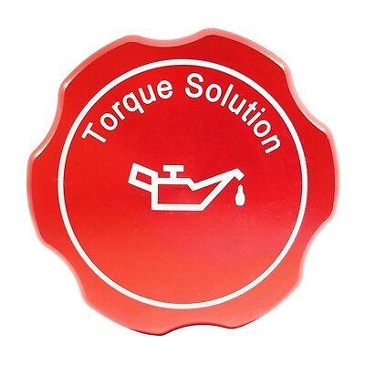 Torque Solution Oil Cap Red Fits Subaru Engines WRX STI EJ Legacy Impreza