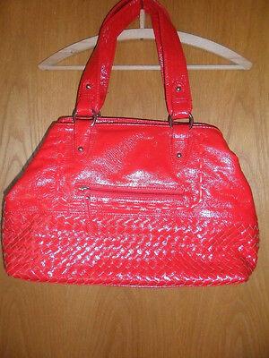 Handtasche - rot - neu