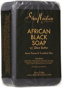 Shea-Moisture-African-Black-Soap-with-Shea-butter-8oz-230g