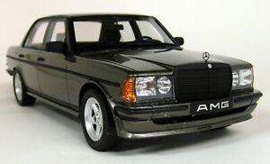 Otto-1-18-Scale-Mercedes-Benz-W123-AMG-280-Grey-Resin-Model-Car