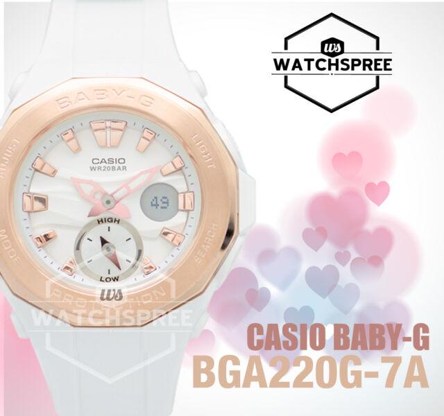 Casio Baby-G Beach Glamping Series Watch BGA220G-7A AU FAST & FREE*