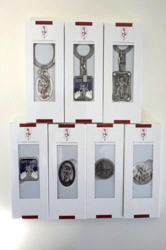 Neumeyer Plakette Magnet Schlüsselanhänger Gute Fahrt Christopherus Autofahrer