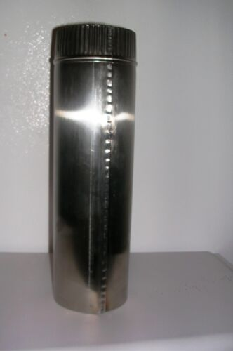 4 inch x 24 inch long Stainless Steel Stove Pipe USA!! Made in Maine