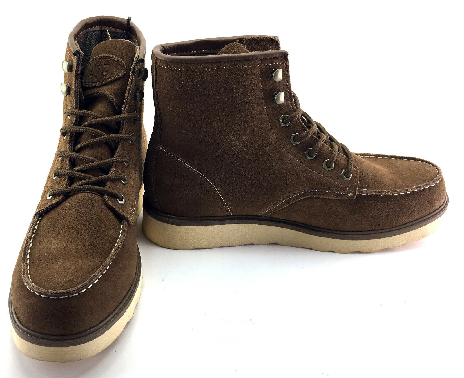Lugz Boots Prospect Suede Hi Brown Shoes Size 10
