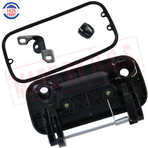 fits Ford F150 F250 F350  Black Textured Tailgate Handle With Keyhole