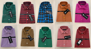 Mens-Casual-Long-Sleeve-Shirts-Check-Item-Details-for-Size-Information