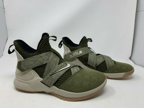 Nike Lebron Soldier XII   SZ 11  AO2609 300  No Box Top