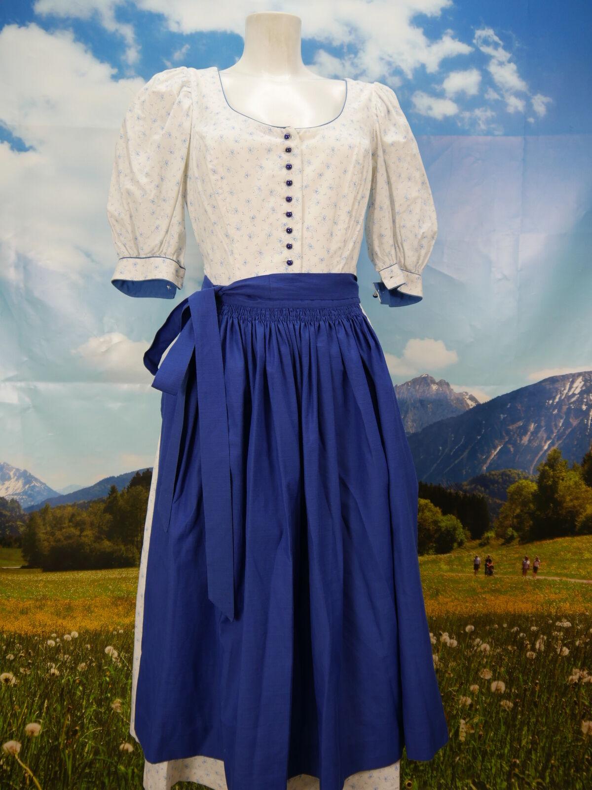 Tracht sind Heimat Heimat Heimat hochwertiges Vintage Dirndl Trachtenkleid mit Schürze Gr.40 5953b2