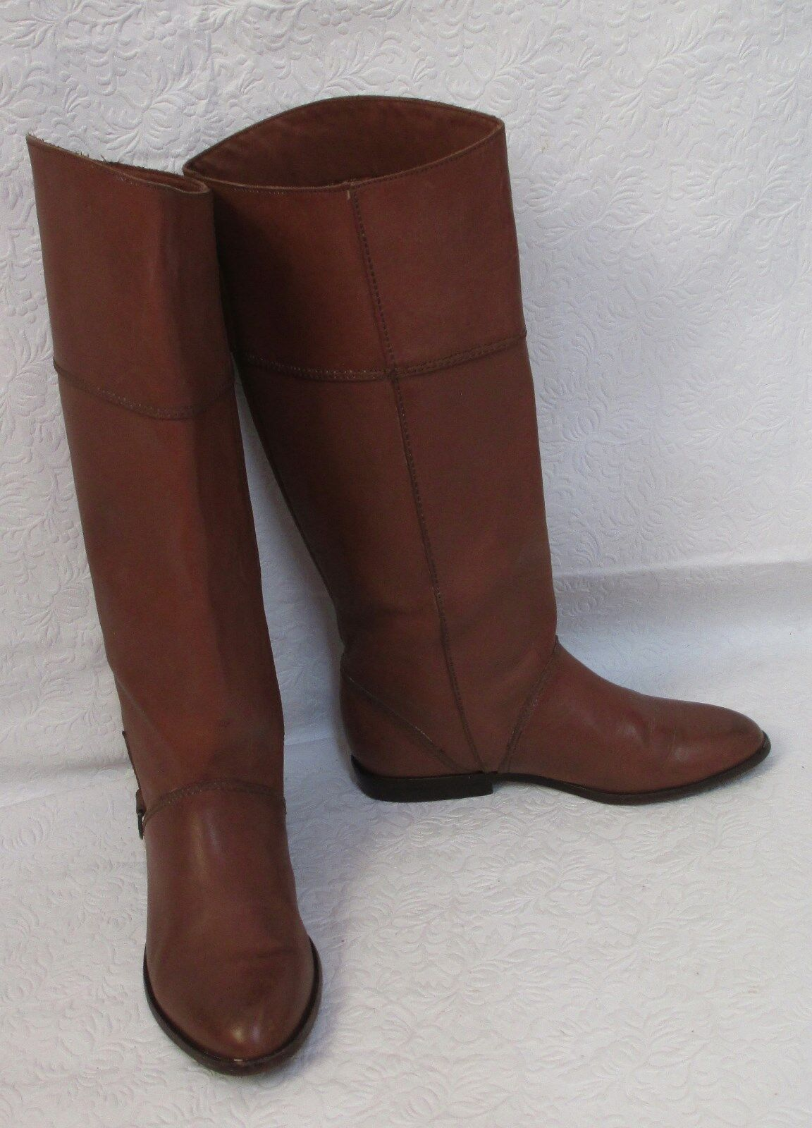 Women's Mister Shoes by Markon Footwear 3651 Leather Riding Equestrian Boots 7 M