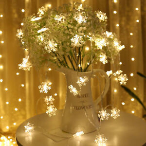 2-3M-String-Lights-Snowflake-Xmas-Tree-Christmas-Party-Home-Warm-Lamp-Decor