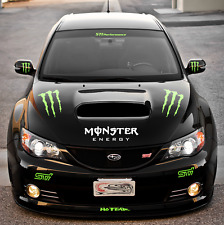 CAR GRAPHIC KIT FOR SUBARU CARS.FRONT REAR SIDES COMPLETE KIT DC BLOCK STI RALLY