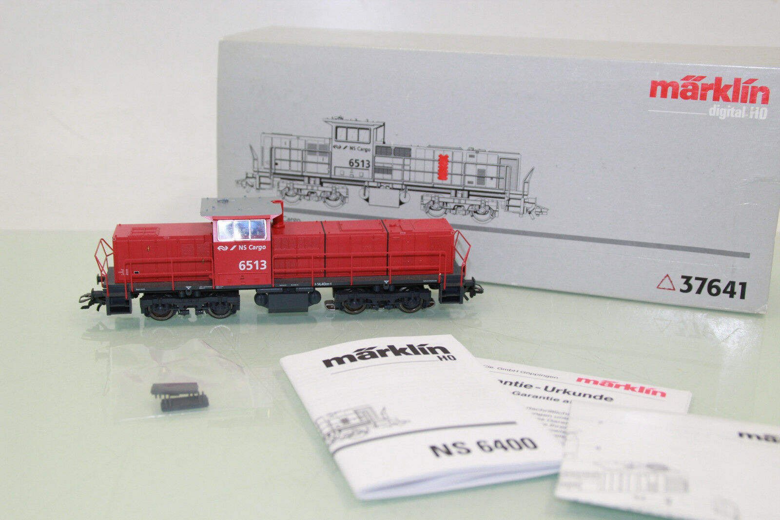 pista h0 37641 DIESEL SERIE 6400 di NS Cargo DIGITAL in scatola originale  nl1036