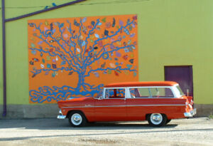 1955 Ford 2dr ranch wagon
