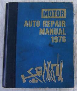 1976 CHILTON/'S AUTO REPAIR MANUAL 1969-1976 AMC FORD CHEVROLET PONTIAC CHRYSLER