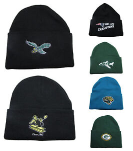 Image is loading NFL-APPAREL-Cuff-Winter-Knit-Beanie-Hat-Adult- e36979e748b