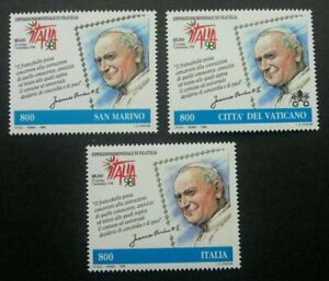 SJ-San-Marino-Vatican-Italy-Joint-Issue-Stampexhibition-039-98-1998-stamp-MNH