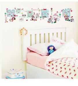 Details zu Wandsticker Kinderzimmer Disney Minnie Mouse Mädchenzimmer  Herzen Wandtattoo NEU