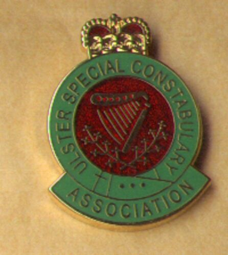 ulster special contstabulary lapel badge B specials northern ireland