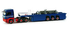 Herpa 155618 MAN TGS LX Cement Part Semitrailer + load Riwatrans 1:87 Scale (PL)