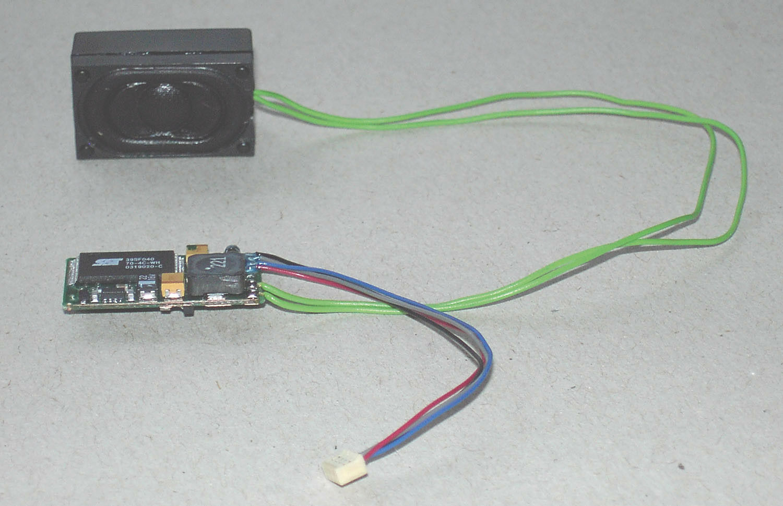 Piko 56321 soundkit para regioswinger h0
