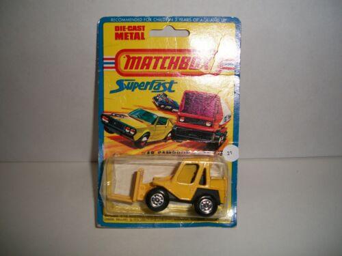 22 Matchbox Packaged Vehicles #027 /& #028