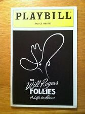 New Playbill  The Will Rogers Follies Keith Carradine Dee Hoty Cady Huffman 2001