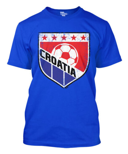 Croatia Soccer Badge World Cup futbol football Olympics Mens T-Shirt