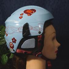 Nice ROSSIGNOL FUN GIRL BLUE Ski Snowboard Helmet XXS 52cm 480g