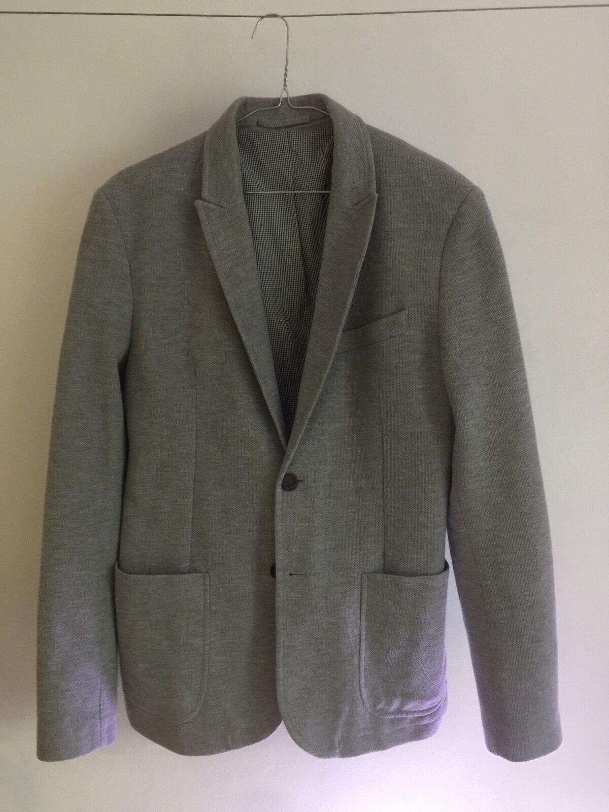 Zara Man Light Grey Blazer Size 38
