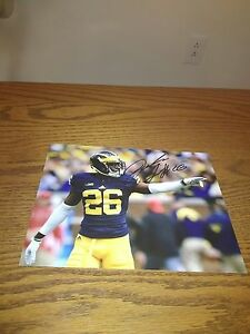 buy popular 39485 0e632 Details about Jourdan Lewis Michigan Wolverines Signed 8x10 Photo NFL  Dallas Cowboys