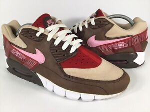c85e991cc2 Nike Air Max 90 DQM Current Bacon Brown White Pink Red Tan Mens Size ...