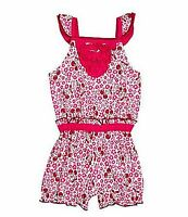 Baby Girls Clothes Starting Out Infant Flutter Sleeve Romper 12 M Pink $16