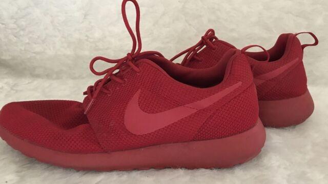 Size 12 - Nike Roshe One Triple Red