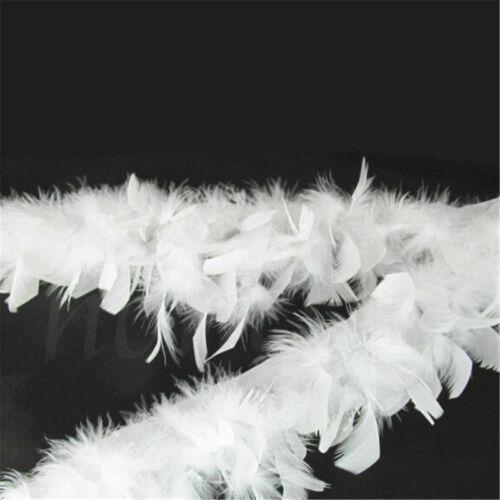 1M Weichen Türkei Feder Fringe Trim für DIY Nähen Millinery Kostüm Dekor