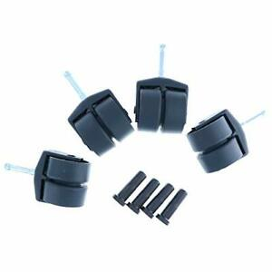 Replacement-Bed-Frame-Casters-with-Insert-Plugs-Non-Brake-Set-of-4