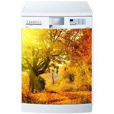 Magnet geschirrspülmaschine Baum Herbst- 60x60cm ref 587 587
