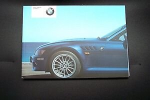 2002 bmw z3 owners manual parts new original e85 e86 ebay rh ebay co uk Z4 E86 E85 Z4 Coupe