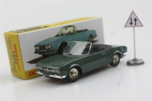 Verde-1423-Cabrio-504-Dinky-Toys-1-43-Atlas-coche-modelo-Peugeot-Roadster