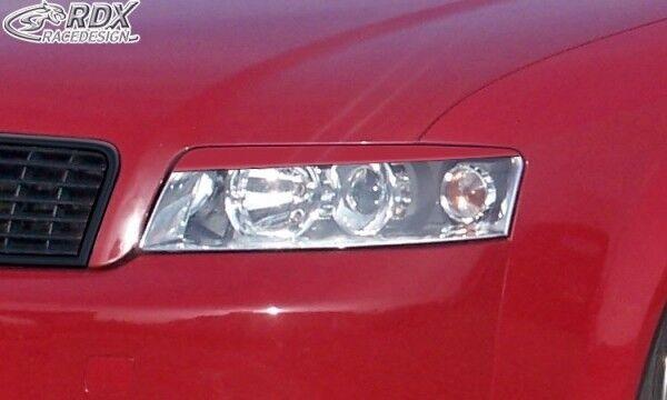 RDX Scheinwerferblenden schwarz matt für Audi A4 B7